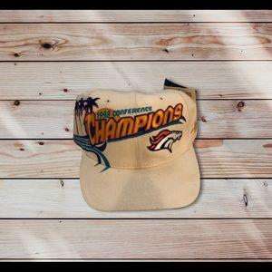 1998 Denver Broncos Conference Champions Hat
